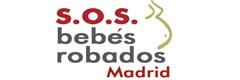 Logotipo de la asociación de SOS Bebés Robados en Madrid
