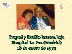 Raquel y Basilio cuadro