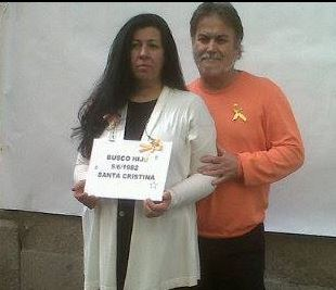 Isabel y Beni buscan hij@ Hospital Santa Cristina Madrid 1982