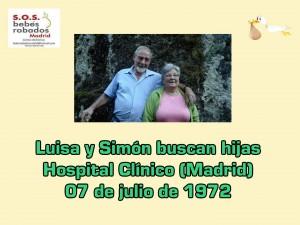 Luisa y Simón cuadro