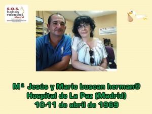 Mª Jesus y Mario Pintor cuadro