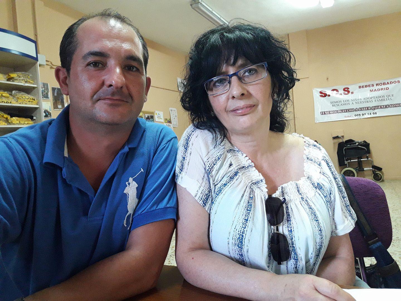 Mª Jesus y Mario Pintor