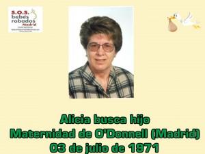 Alicia Rubio cuadro