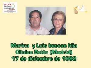 Marina y Luis cuadro